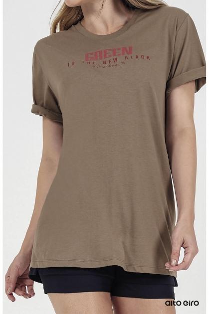 T-Shirt Ceramic Inspiracional Eco Verde