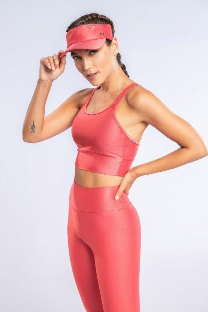 Top Strappy Essential Rosa